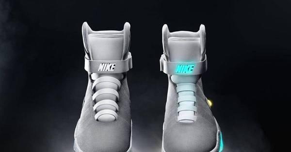 """Nike lança tênis do filme """"De Volta Para o Futuro"""" - Notícias - R7 ..."""