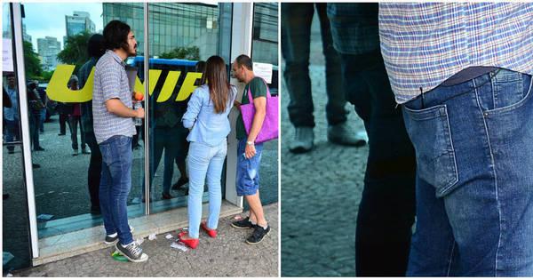 """""""Falso atrasado"""" do Enem é flagrado por jornalistas - Notícias - R7 ..."""