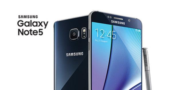 Novidades! Samsung lança Galaxy Note 5 com tela grande e caneta ...