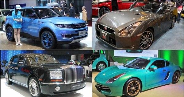 Carros famosos são copiados por fabricantes chinesas; você vai se ...