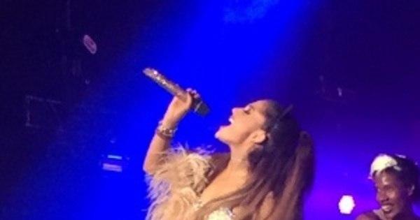 Ariana Grande mostra vozeirão e mistura fofura com sensualidade ...