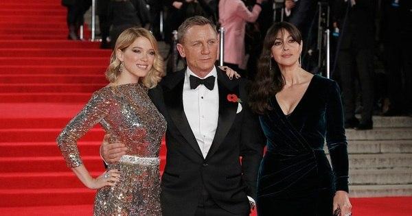 Estreia do novo 007 conta até com a presença da família real britânica