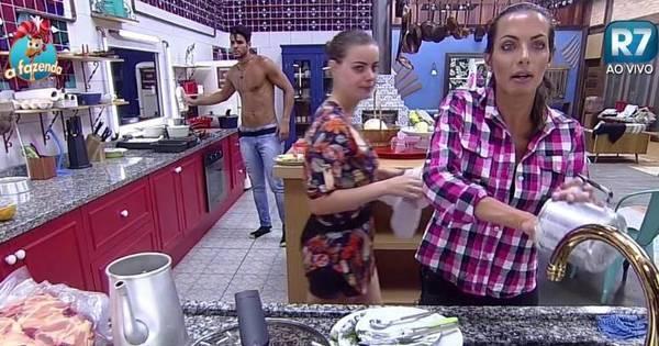 """Li Martins critica serviço de Mara Maravilha no lixo: """"Preguiça ..."""