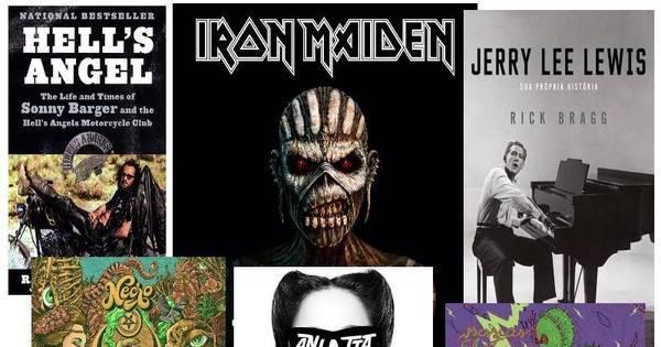 Iron Maiden, Necro e Anitta estão entre os lançamentos de CDs e ...