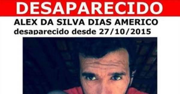 Alex da Silva Dias Americo, desaparecido aos 27 anos - Notícias ...