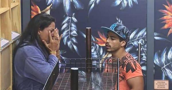 Antes de ser eliminada, Rebeca chora e se desculpa com Douglas ...