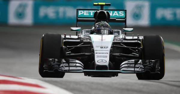 Rosberg ultrapassa Hamilton e faz quarta pole seguida - Esportes ...