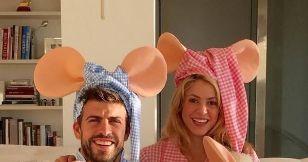 Que fofura! Shakira aparece fantasiada com a família ...