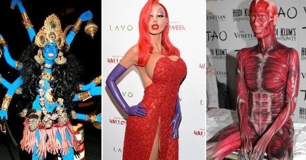 Veja 16 momentos que provam que Heidi Klum é a rainha das ...