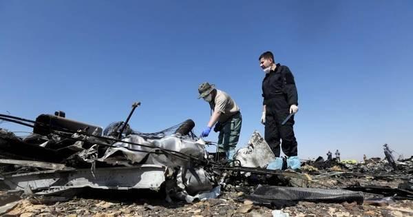 Satélite captou clarão em momento de acidente aéreo no Sinai ...