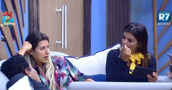 Ana Paula dá bronca em Mara Maravilha e peoas discutem - Fotos ...