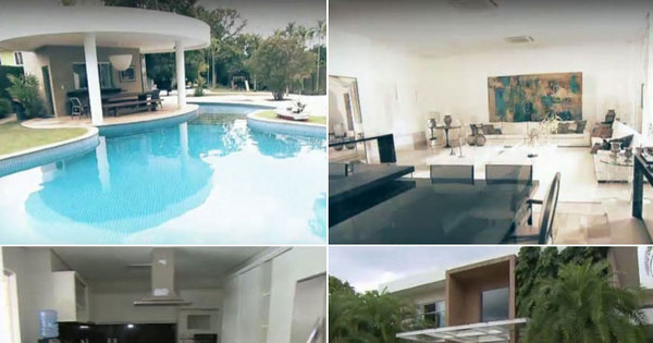 Chimbinha mostra a mansão que dividia com Joelma em Belém ...