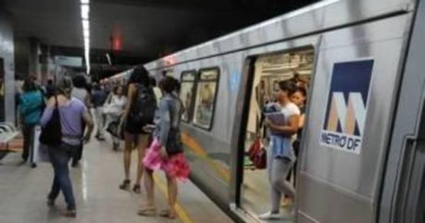 Metrô do DF continua totalmente parado nesta quarta-feira ...