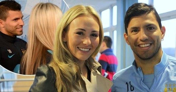 Atacante do Manchester City nega romance com Sergio Aguero ...