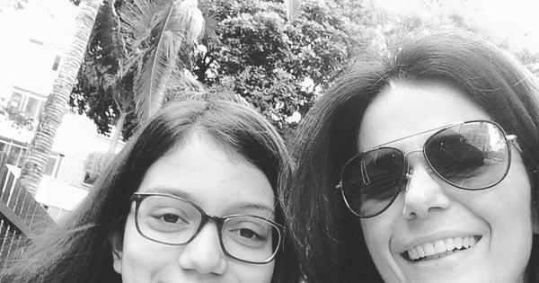 """Adriana Araújo se emociona em depoimento sobre a filha: """"A ..."""
