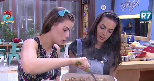Mão na massa! Carla Prata e Rayanne Morais assumem a cozinha ...