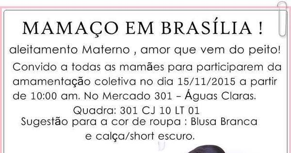 Após polêmica no Facebook, mães do DF marcam 'mamaço' em ...