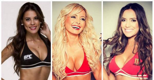 Conheça as 3 ring girls que vão embelezar o UFC Fight Night em ...