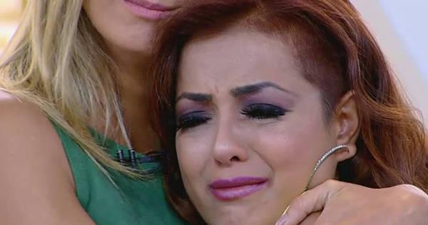 Li Martins chora ao relembrar agressão que sofreu do marido e ...