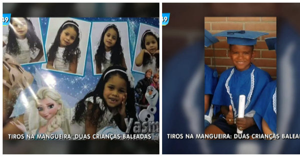 """""""Mais uma criança baleada na favela"""", diz mãe de menino ferido na ..."""