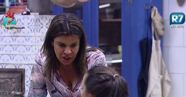 """""""Na próxima Roça eu vou votar em você"""", diz Mara a Carla Prata ..."""