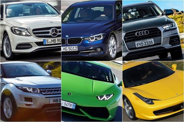Os 25 Carros De Luxo Mais Vendidos No Brasil Em 2015