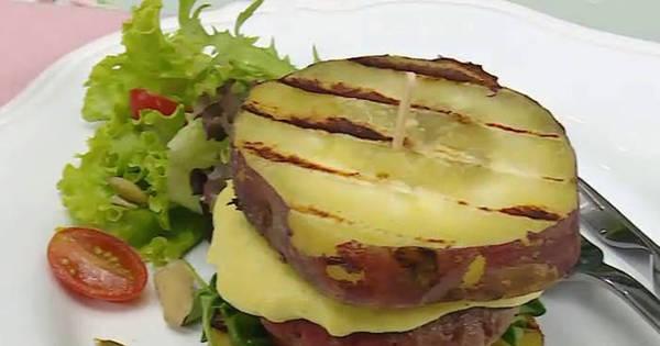 De dieta? Aprenda a receita de um hambúrguer caseiro para comer ...