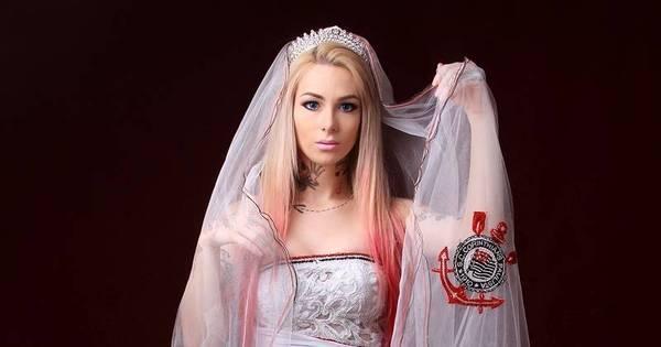 Timão campeão: estilista cria vestidos para noivas corintianas ...