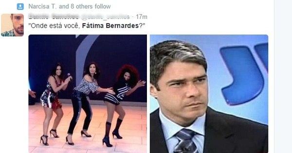 Veja as sete melhores reações da internet ao ver Fátima Bernardes ...
