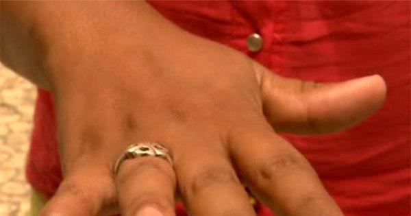 """""""Ele disse que ia fazer um colar com meu dedo"""", revela mulher que ..."""