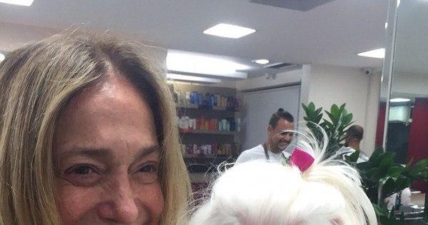 Susana Vieira posa completamente sem maquiagem e ganha ...