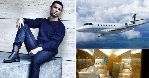 Veja fotos do novo jatinho de R$ 78 milhões de Cristiano Ronaldo ...