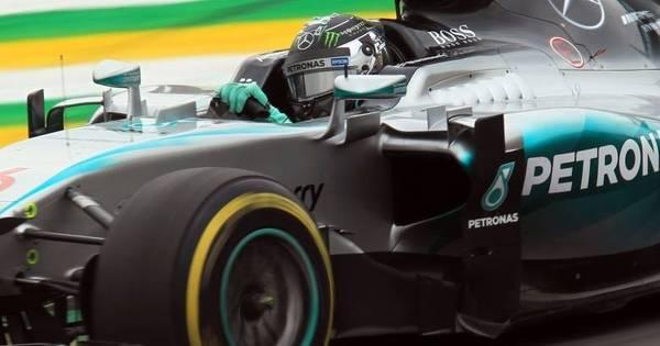 Líder do dia, Rosberg prevê batalha com Hamilton pela pole no GP ...
