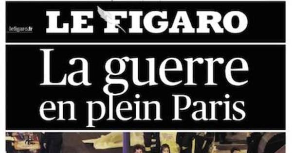Após massacre em Paris, jornais do mundo inteiro acordam em luto ...