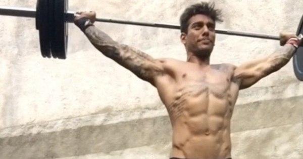 Lucas Lucco deixa fãs babando ao mostrar corpo sarado durante ...