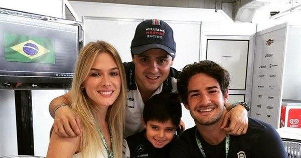 Pato e Fiorella agitam bastidores da Fórmula 1 - Fotos - R7 ...