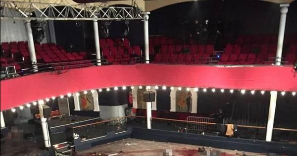 IMAGEM FORTE: Foto mostra casa de show após ataque que matou ...