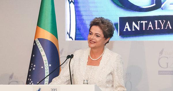 Dilma nega negligência federal sobre Mariana: 'Quando vou, vou ...