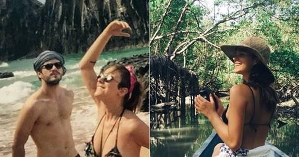 Separados! Bruna Marquezine viaja com a família para Alagoas e ...