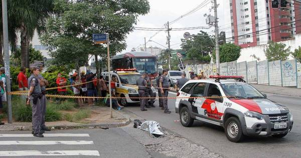 Suspeito morre durante assalto na avenida Giovanni Gronchi, no ...