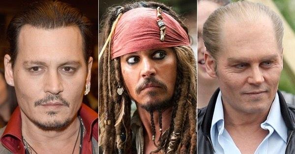 Johnny Depp está irreconhecível em seu novo filme. Veja as ...