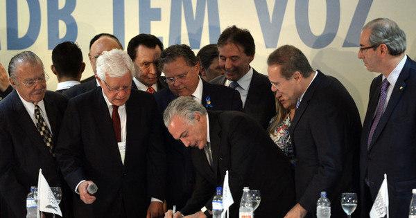 Para onde vai o PMDB? - Notícias - R7 Brasil