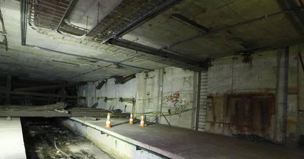 Metrô: governo do RJ abre plataforma fantasma esquecida há 30 ...