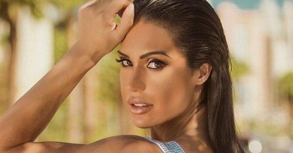 Veja a sensualidade de Gracyanne Barbosa por trás dos músculos ...