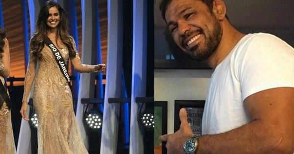 Minotauro vai ao Miss Brasil torcer pela namorada - Fotos - R7 Mais ...