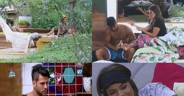 Rola edredom ou será que Mara Maravilha e Marcelo estão ...