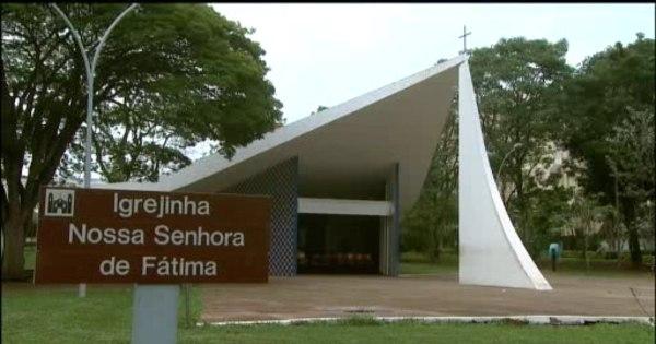 Ladrões roubam cofre de igrejinha projetada por Oscar Niemeyer ...