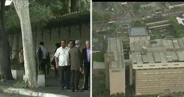 Ameaça de bomba: helicóptero do Cidade Alerta sobrevoa sede do ...