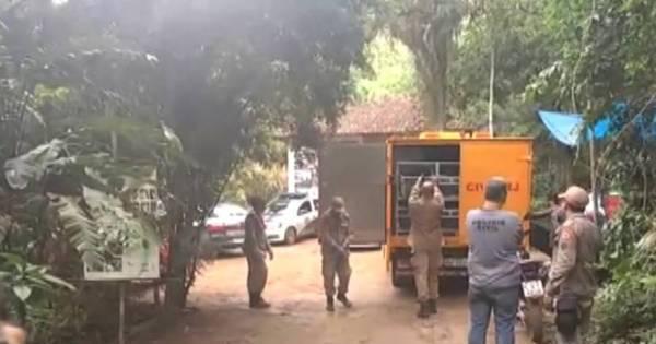 Polícia encontra cinco corpos no campo de Gericinó, em Mesquita ...