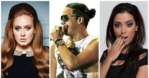 Retrospectiva 2015: Adele, Wesley Safadão e Anitta dominam o ...